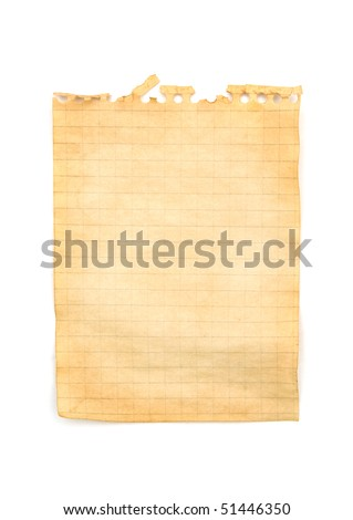 Old note paper background texture