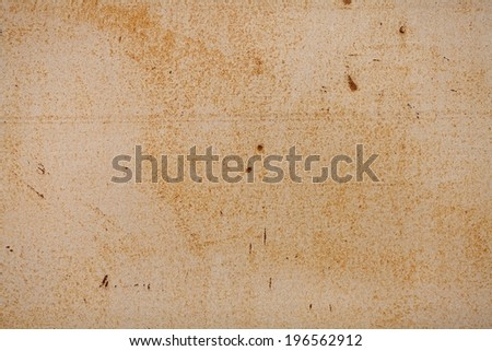 old paint on a rusty metal, rusty metal for background - stock photo