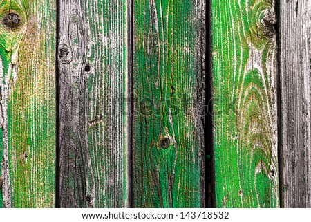 Old paint wood - stock photo