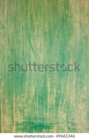 Old painted wood panel background - stock photo