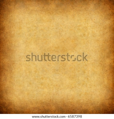 Old paper background - square format - stock photo