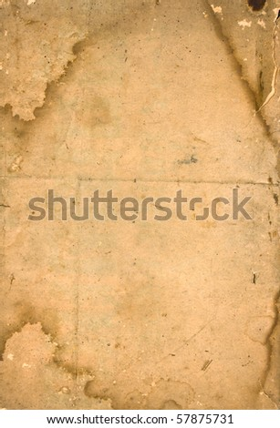 Old paper  background with space for text or image - stock photo