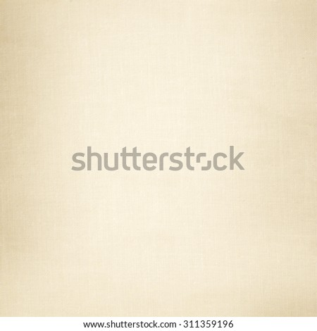 old paper beige fabric canvas texture background - stock photo