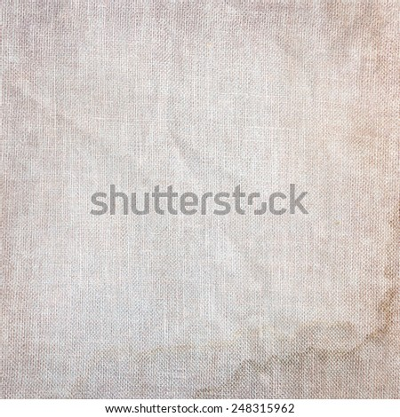 old paper canvas texture vintage background - stock photo