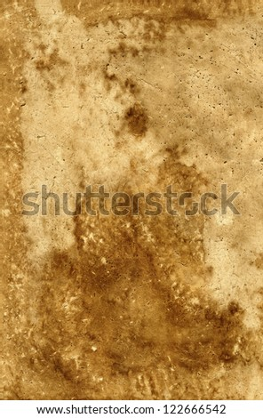 Old paper. Dirty, stained texture paper - stock photo