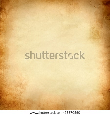 Old paper, may be used as background - stock photo