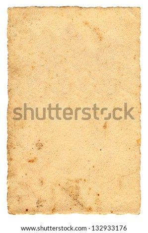 Old paper postcard texture - stock photo