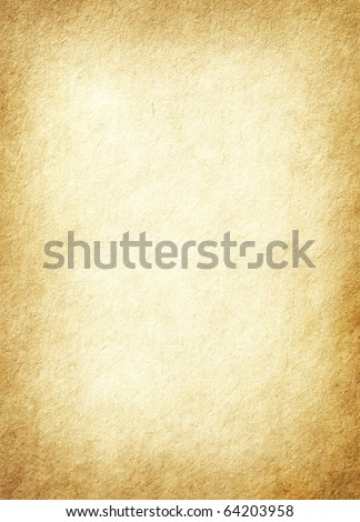 Old paper texture. - stock photo