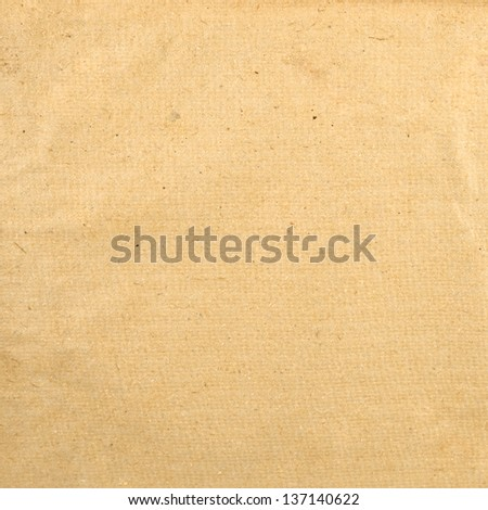 Old paper texture as abstract background front view