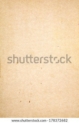 Old paper texture as background - stock photo