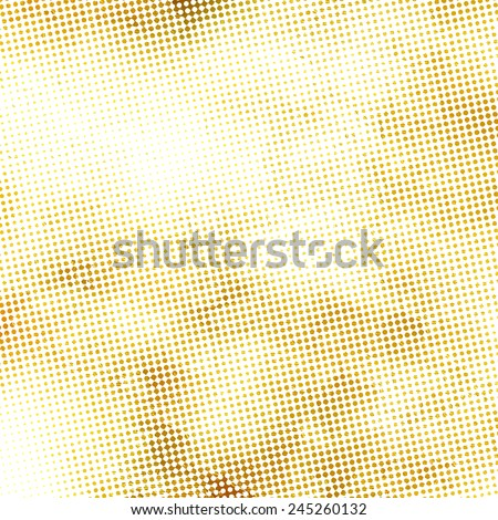 old paper texture, halftone pattern, bright background - stock photo