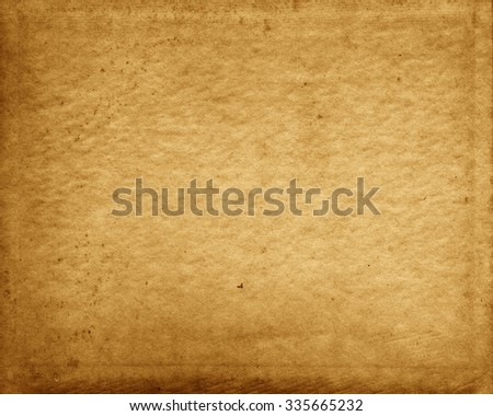 Old Paper Texture, Obsolete Background - stock photo