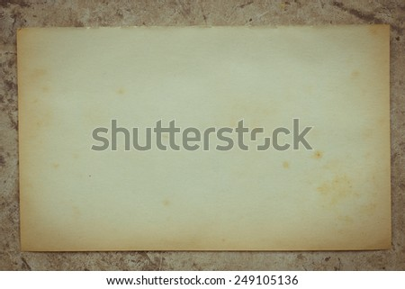 Old paper texture use for background - stock photo