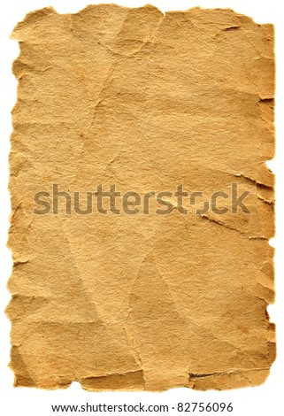 Old paper texture.Vintage grungy texture - stock photo