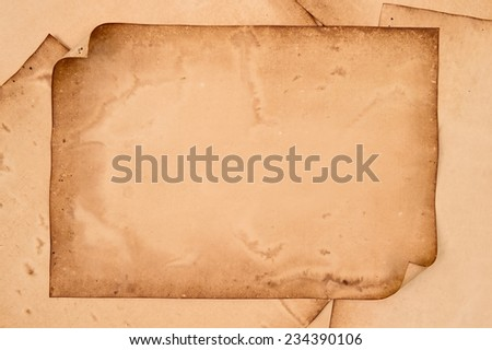 old papers texture for background. - stock photo