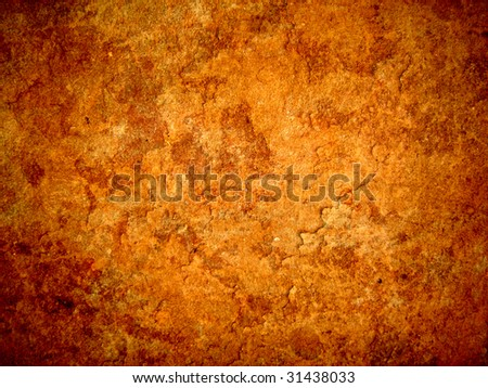 Old peeled rusty background - stock photo