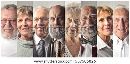Old people's montage