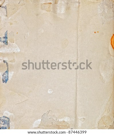 old photo paper texture - stock photo