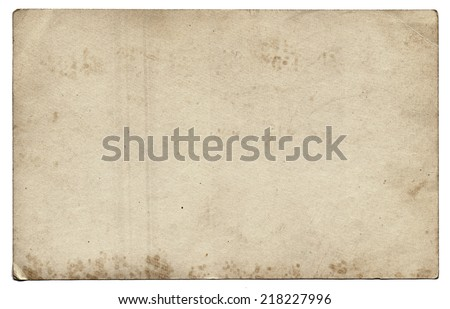 Old photo texture with stains and scratches  - stock photo