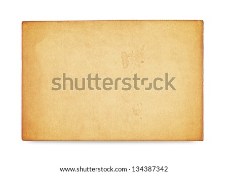 old photo vintage texture on white background - stock photo