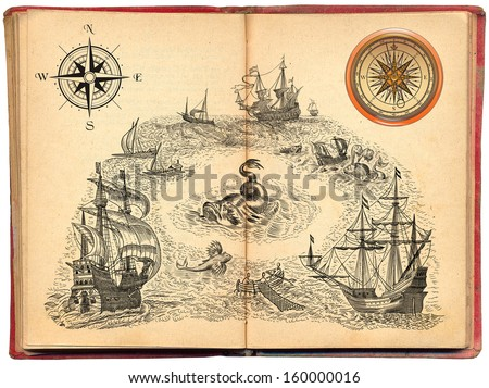 Old pirate book