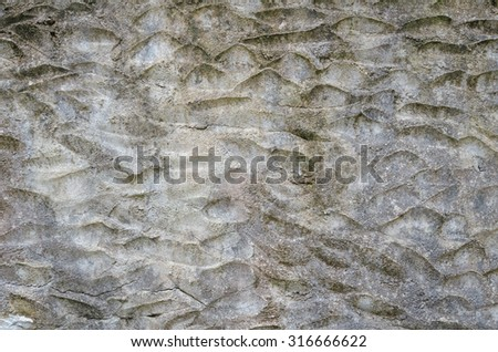 Old plaster wall surface for texture or backgrounds .