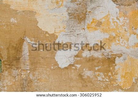 Old Plasterboard Surface Texture - stock photo