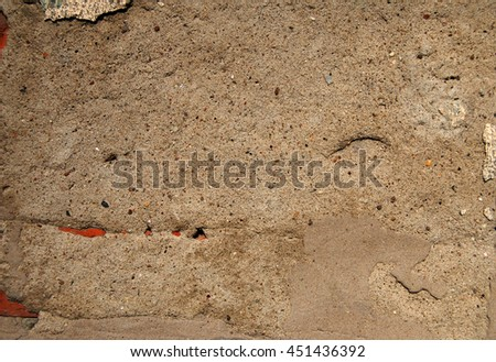 Old plastered cement wall texture