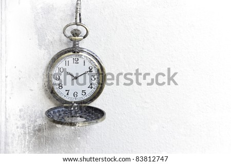 old pocket watches - stock photo