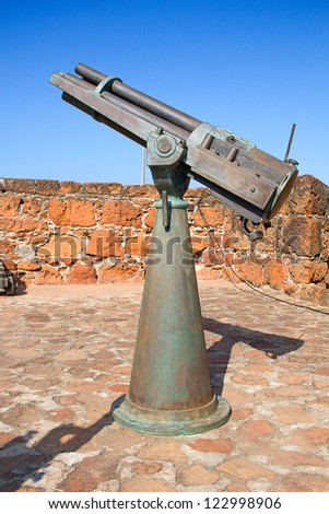 Old portugese fort in Maputo, Mozambique - stock photo
