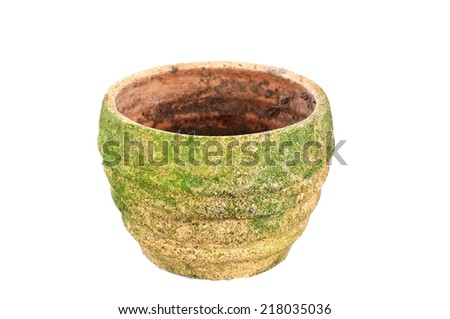 Old pot - stock photo