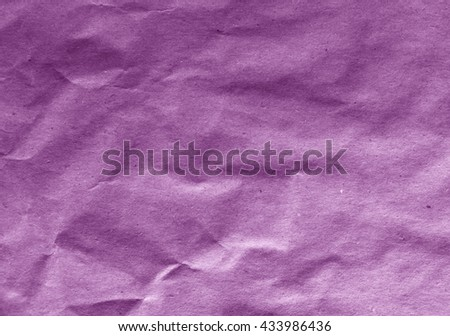 Old purple paper sheet texture. Background and texture for design - stock photo