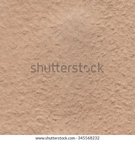 Old recycled paper texture. Brown paper background  - stock photo