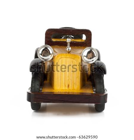 Old retro car - stock photo