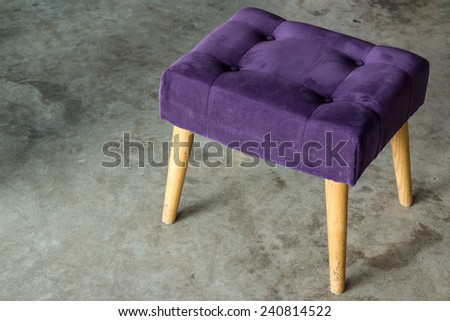 Retro Purple Chair Old Retro Purple Chair/old