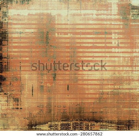 Old retro vintage texture. With different color patterns: yellow (beige); brown; gray; black - stock photo