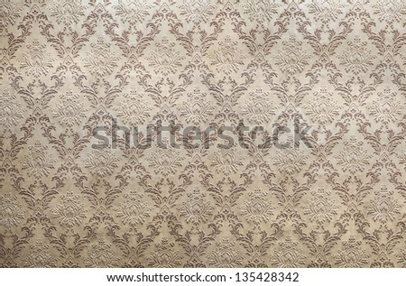 old retro wallpaper for your design - stock photo