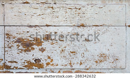 Old ruined brick wall texture - stock photo