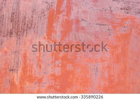 Old rust surface can be used for background and texture - stock photo