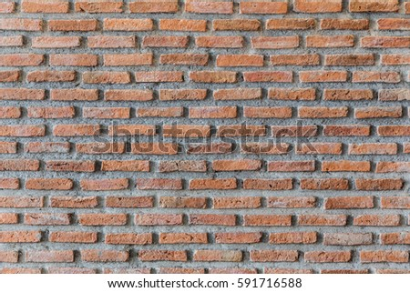 OLD RUSTIC BRICK WALL TEXTURE BACKGROUND