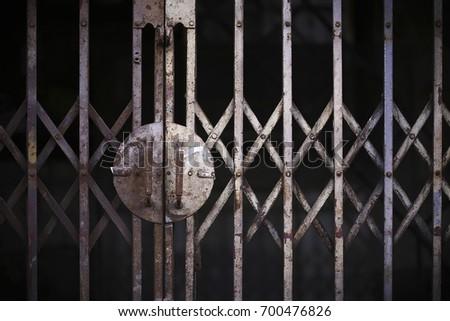 Old rusty grilled door & Sliced Door Stock Images Royalty-Free Images \u0026 Vectors | Shutterstock Pezcame.Com