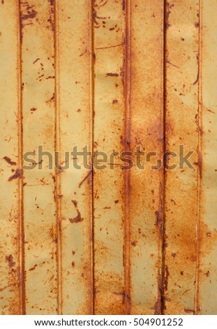 old rusty sheet metal wall, background wallpaper