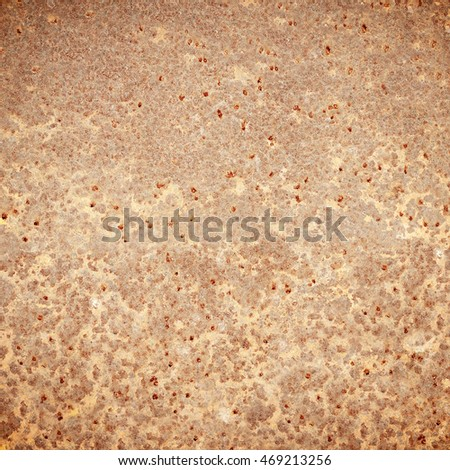 Old rusty steel plate surface texture background