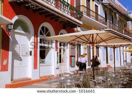 Old San Juan 6 - stock photo