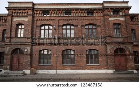 Old school building - stock photo