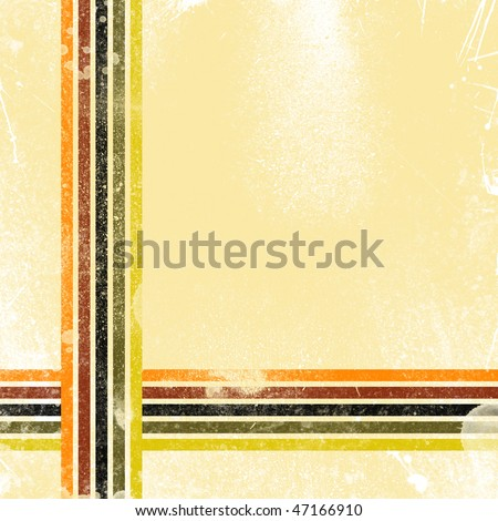 old school disco poster background - stock photo