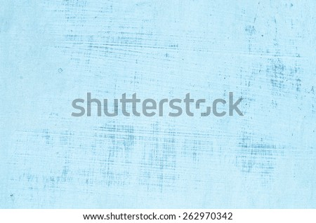 old scratched patel painted wall - stock photo