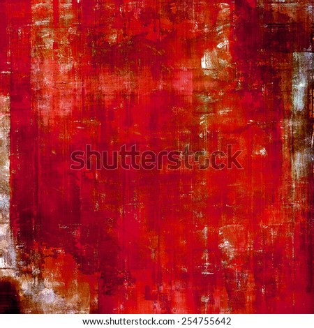 Old scratched retro-style background. With different color patterns: yellow (beige); brown; red (orange); pink - stock photo
