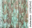 Old Shabby Wooden Planks with cracked color Paint, background - stock photo