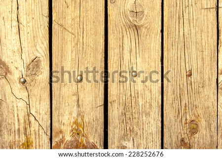 Old Shabby Wooden Planks with cracked color Paint, background